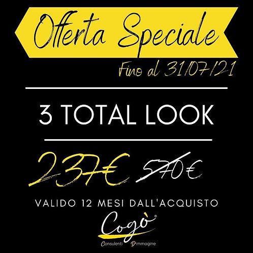 Offerta Speciale 3 Total Look
