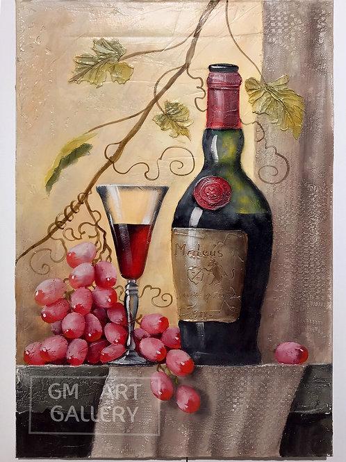Натюрморт с виноградом