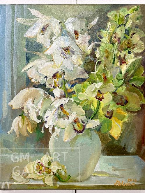 """Натюрморт """"Орхидея"""""""