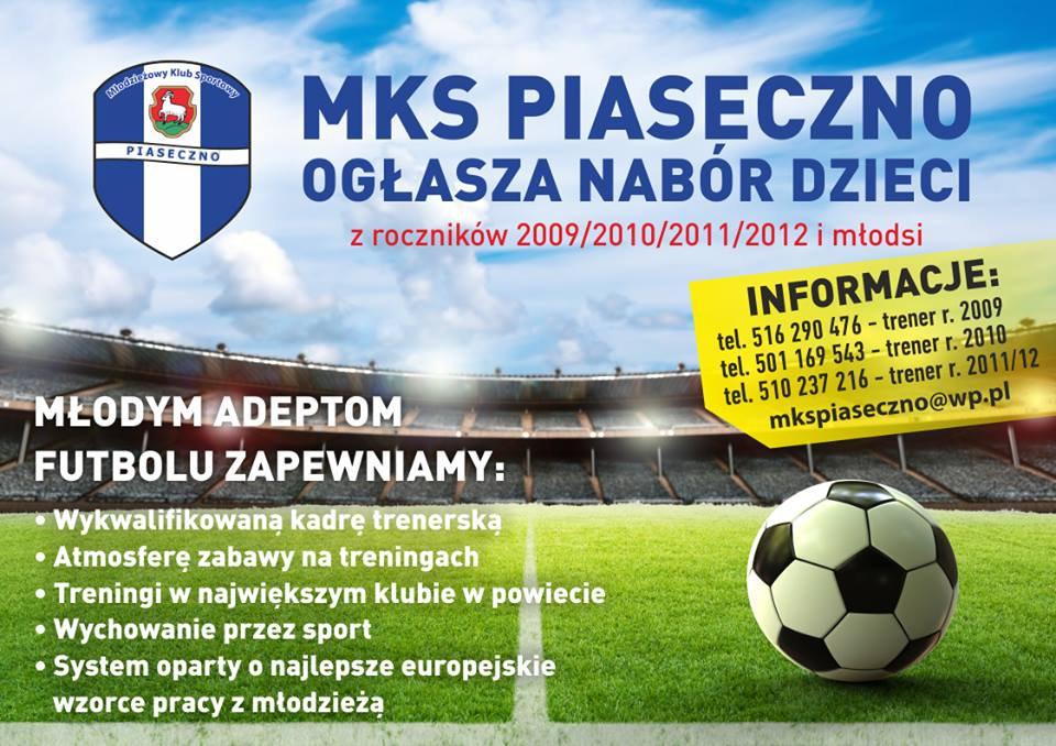Nabór dzieci MKS Piaseczno