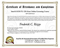 IntrNachi Certified Home Inspector