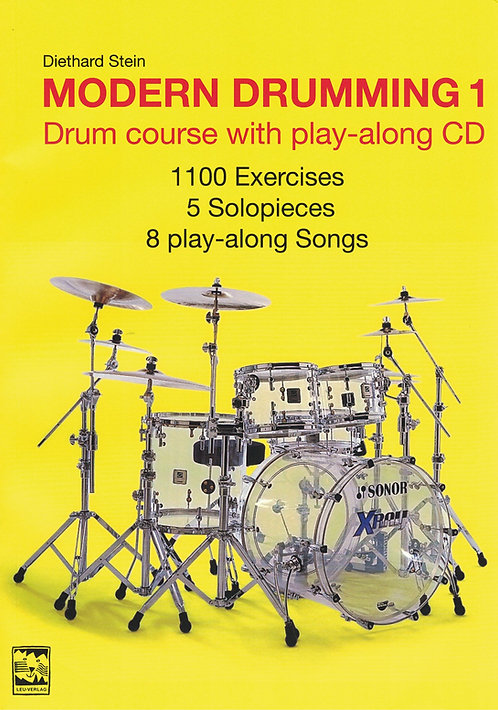 Modern Drumming 1, english issue