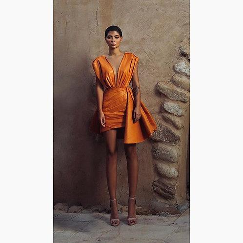 Goldfish Orange Dress (size 36)