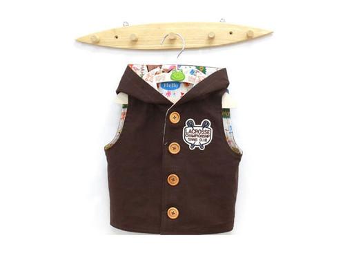 Paper Pattern Kids Hood Coat Jacket Vest Design