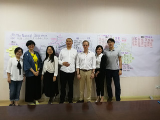 Sustainability Vision and Strategy workshop for a Chinese textile mill