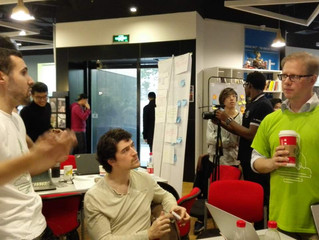 Patrik Sandin, coach @ StartupWeekend Shanghai
