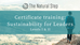 The Natural Step Certification Training: Sustainability for Leaders, Levels I & II (Shanghai) Op