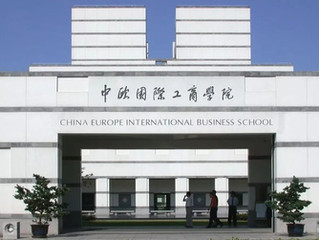 Sustainability workshop at China Europe International Business School