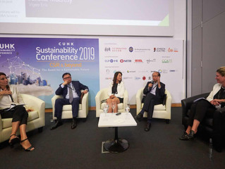 Patrik Sandin presented at CUHK Sustainability Conference