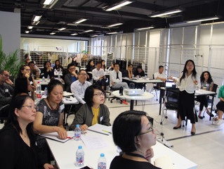 Top management workshop with leading French fashion retailer in China