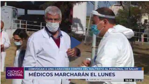Tensión en los hospitales: médicos autoconvocados vuelven a marchar el lunes