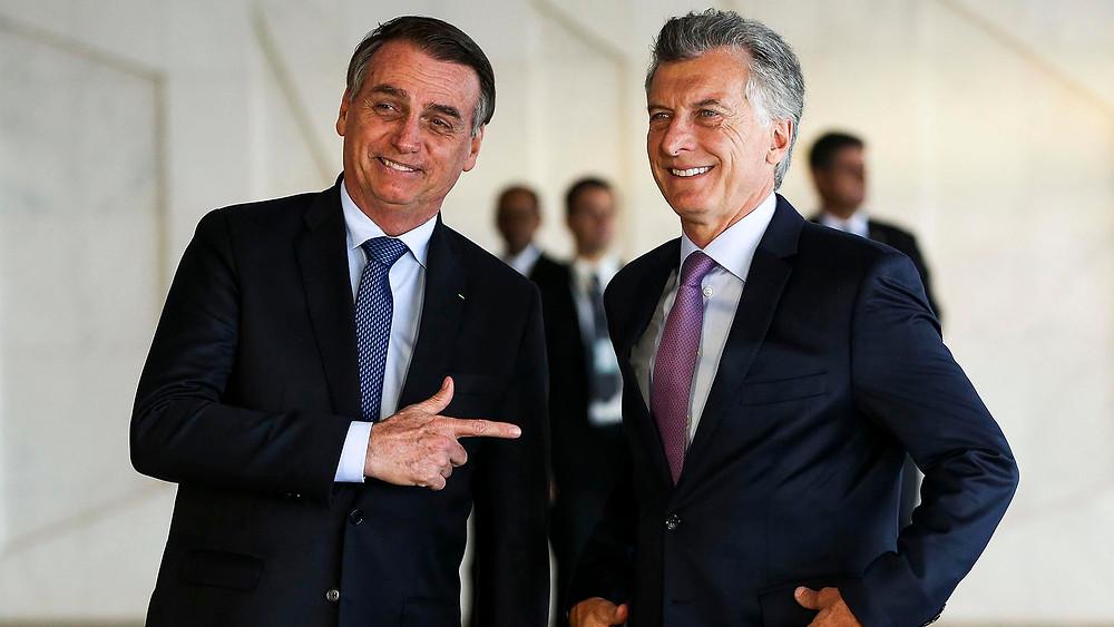 Macri y Jair Bolsonaro