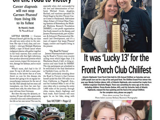 """It was """"Lucky 13"""" for the Front Porch Club"""