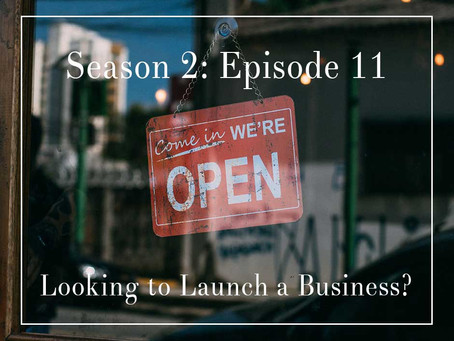 S2E11: Planning to Launch a Business During the Pandemic?