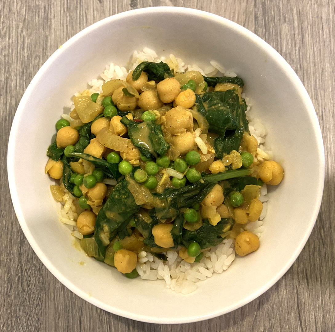 Maria's Chickpea Curry