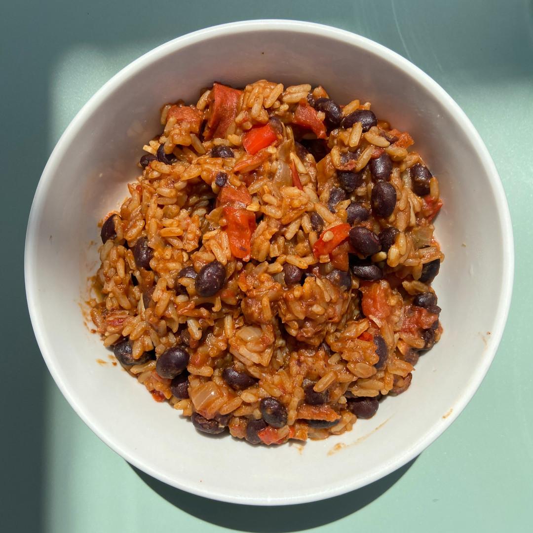Freya's Beans and Rice