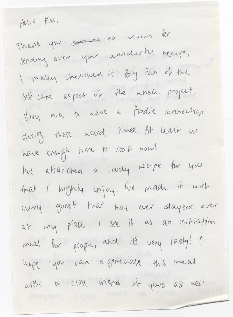 Rebecca Letter p.1