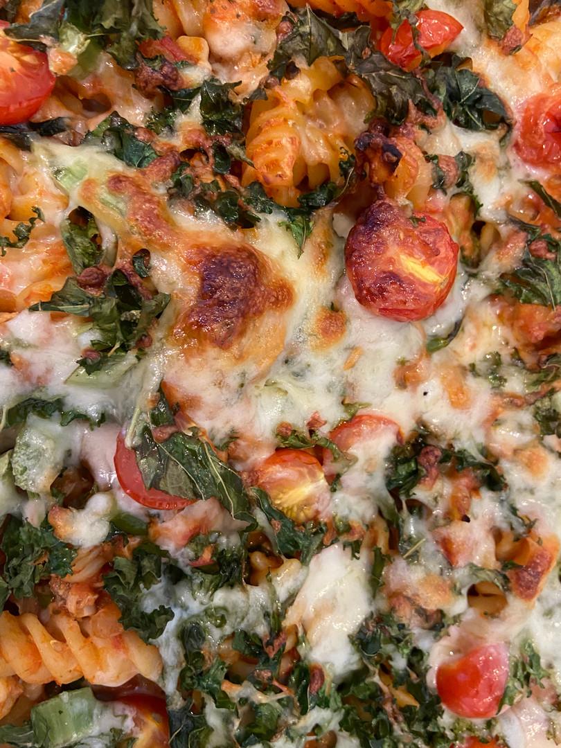 Joseph's Tuna Vegetable Pasta Bake