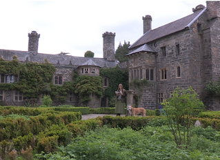 Ghostly goings on at Gwydir Castle, Wales