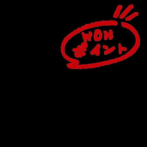 WON・EGG ワンエッグのワンポイント