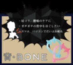 背・BONE|HOGUシリーズ