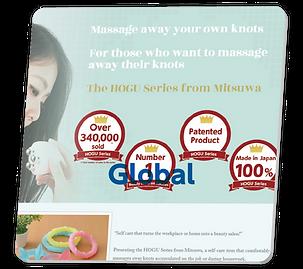 HOGUシリーズ 海外 ウェブサイト|ミツワ株式会社