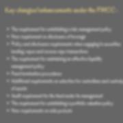 Key changes_enhancements under the FMCC
