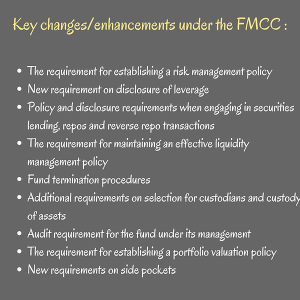 Key changes_enhancements under the FMCC