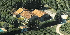 Domaine viticole du Mas de Pampelonne vue du ciel