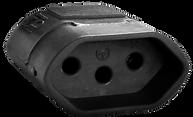 TOMADA SLIM 2P+T - 180º - 10A