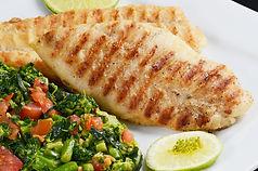 pescada grelhada