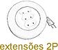 extensões 2P