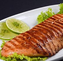 salmão na manteiga