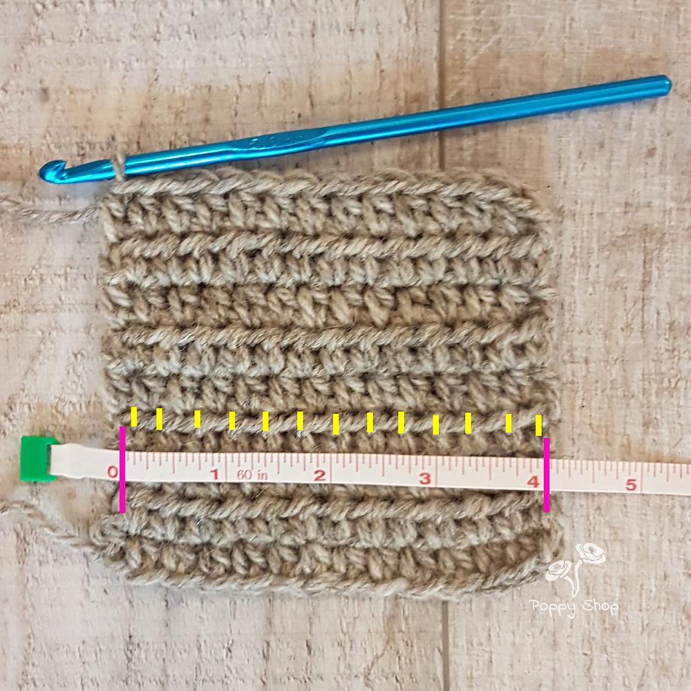 Crochet Stitch Gaguge