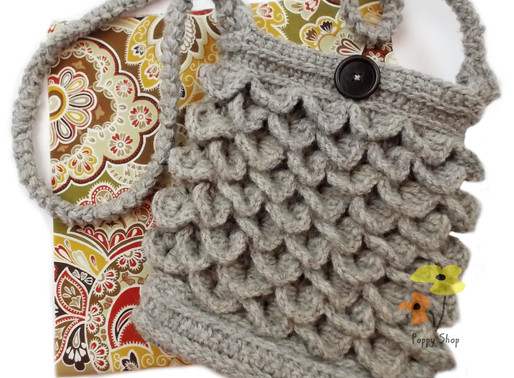 How to Add a Liner to a Crochet Purse or Bag