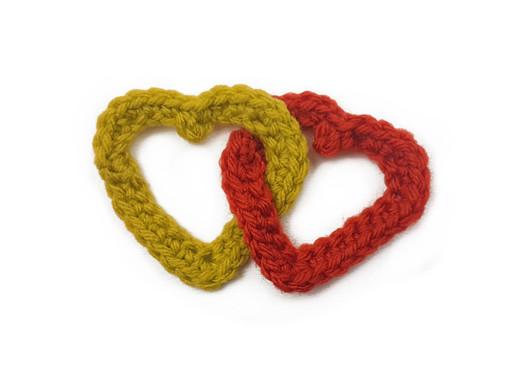 Linked Hearts Crochet Tutorial