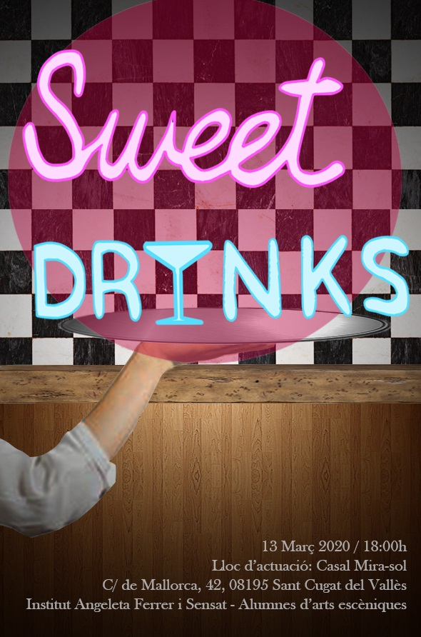 Sweet Drinks cartell definitiu cambios d