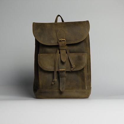 Backpack Dark Coral Green