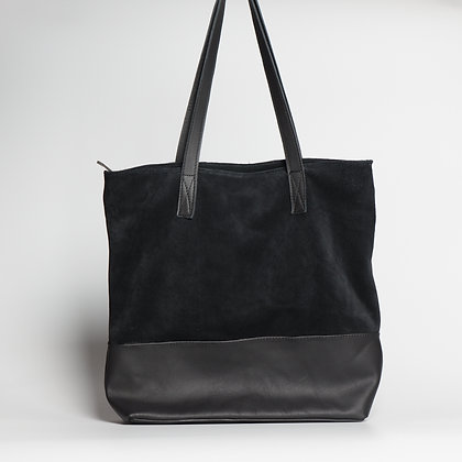 Tote Black Two-Toned