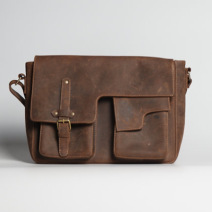 Laptop Bag Natural Brown