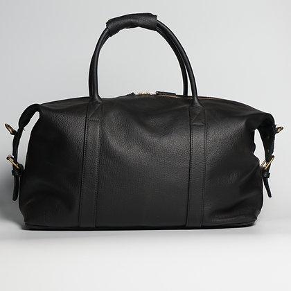 Luggage Black Gold Zipper