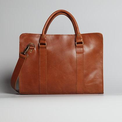 Briefcase Orange Shiny