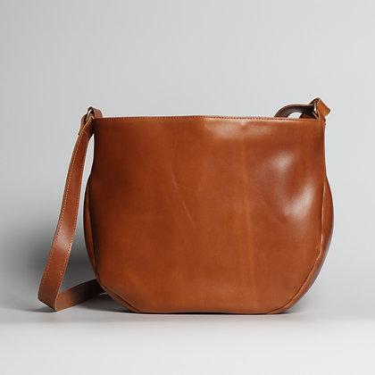 Crossbody Bag Orange Shiny