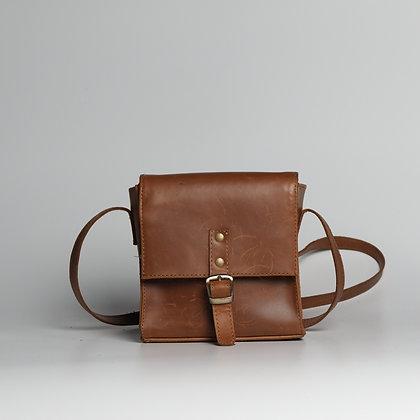 Camera Bag Orange Brown