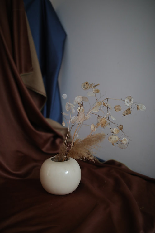 orb shaped vase