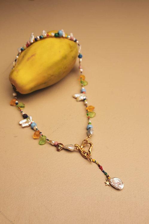 Backwards Necklace