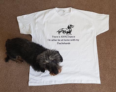 Wire Haired Dachshund T-shirt 4