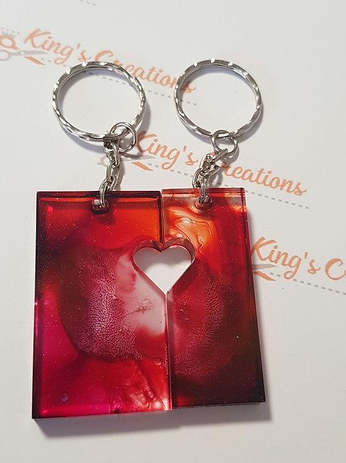One love key rings