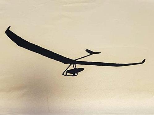 Hang gliding t-shirt Atos in flight