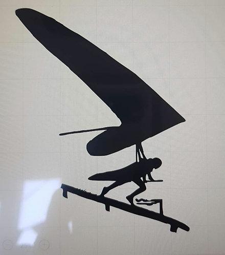 Hang gliding t-shirt flex wing take off